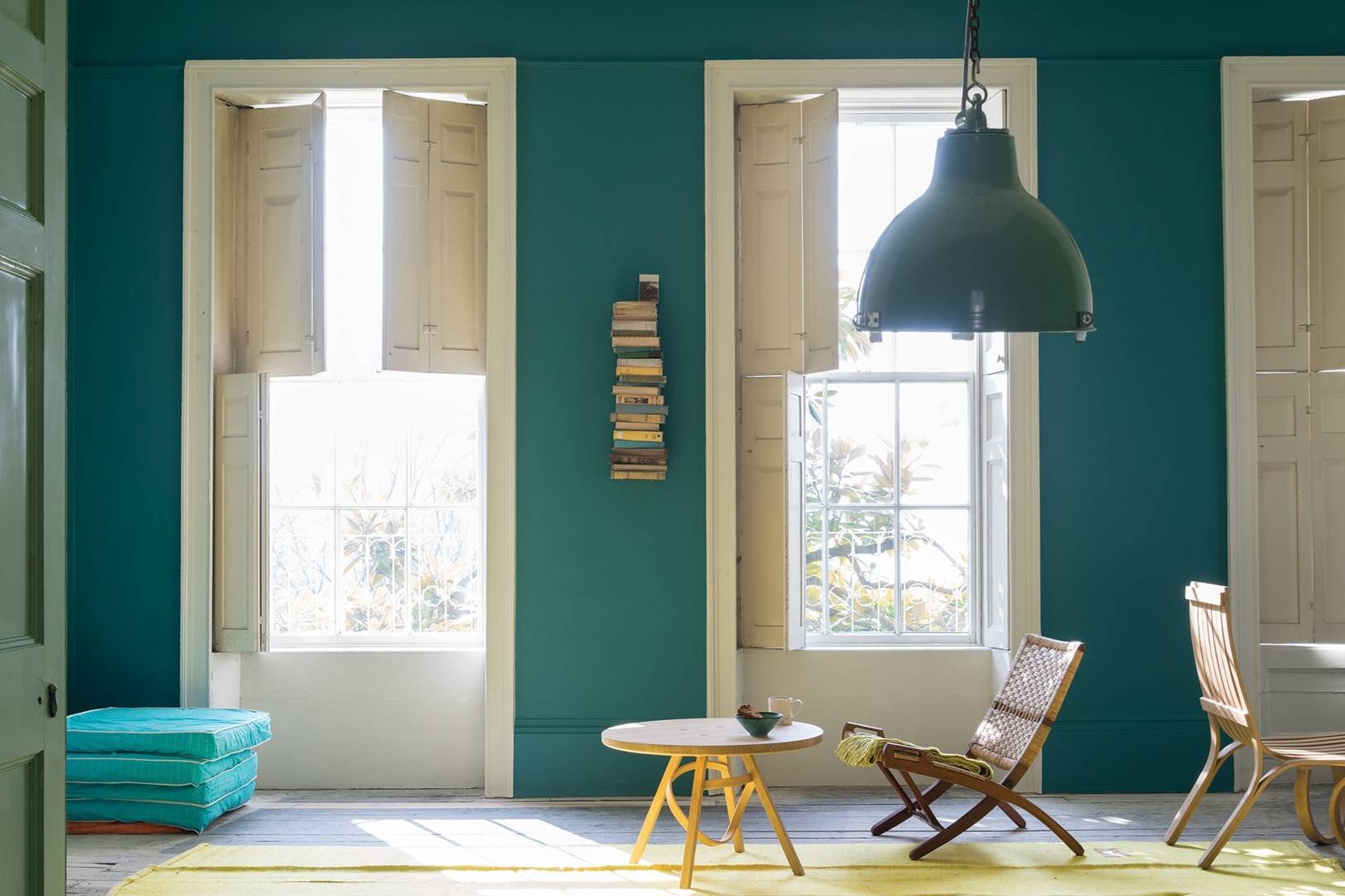 Farrow And Ball Blue Ground Front Door - Round Designs