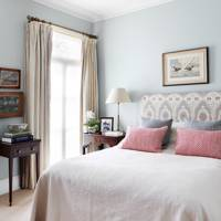 Serene Pale Blue Bedroom