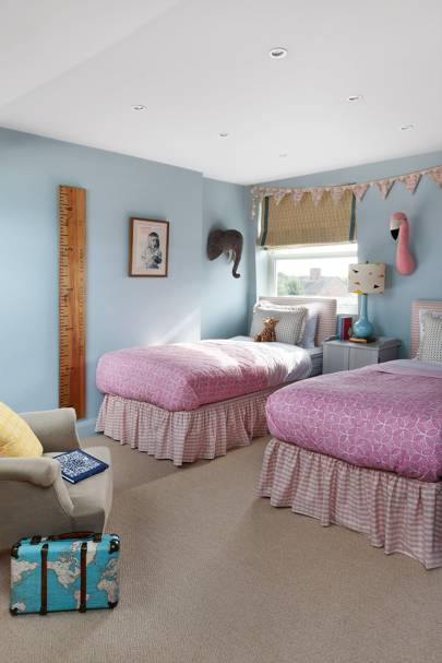 Daughters' Bedroom - Nicole Salvesen London Family Home