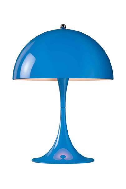 Blue Acrylic Lamp