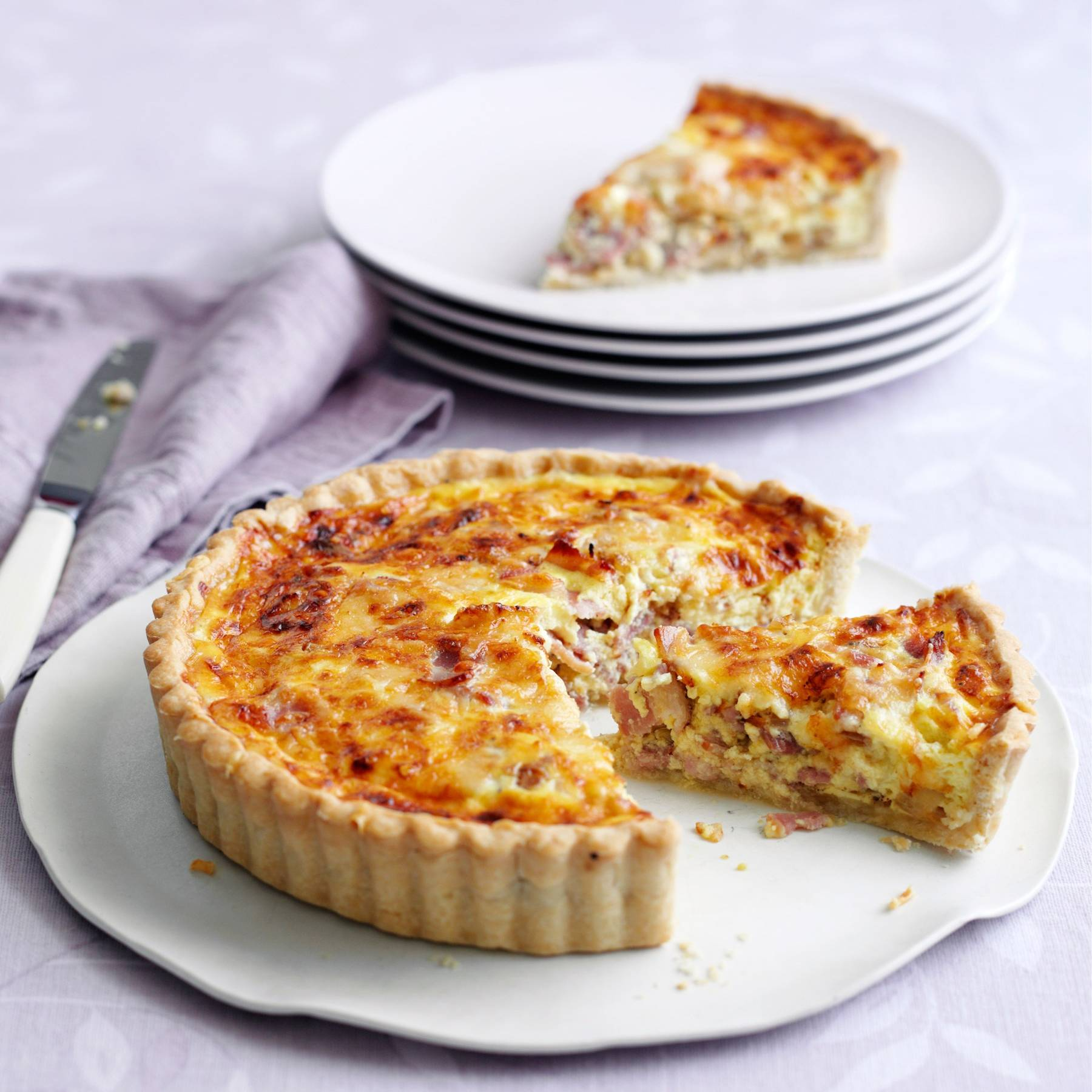 Easy Quiche Lorraine Recipe By Mary Berry House Garden