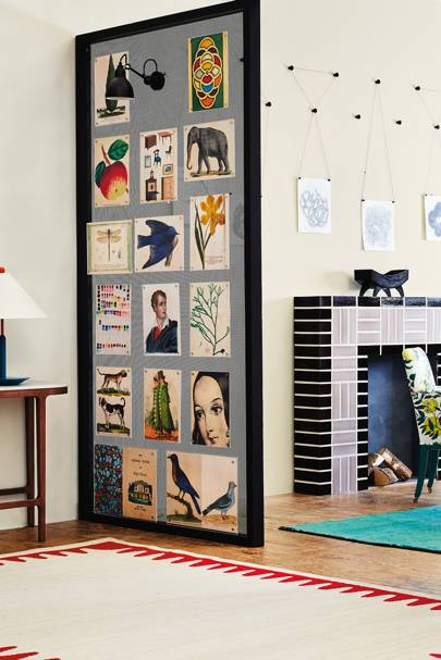 A Shoppable Scheme Showcasing Playful New Ways To Display Things On Walls,  Curated By Our Decoration Editors