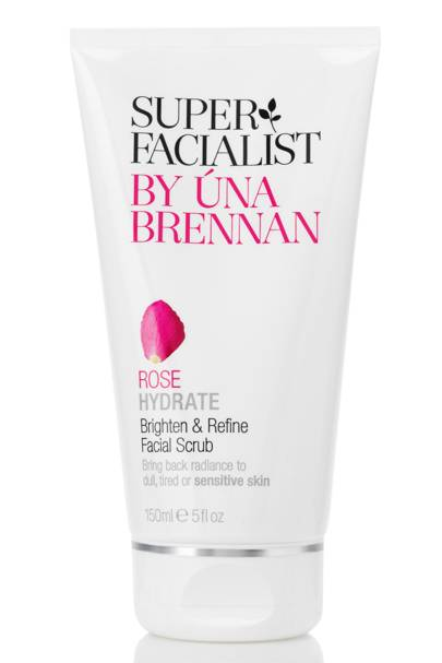 3 December: Rose Hydrate Brighten & Refine Facial Scrub, £8.99