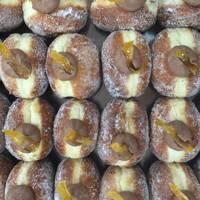 Bread Ahead chocolate orange doughnuts