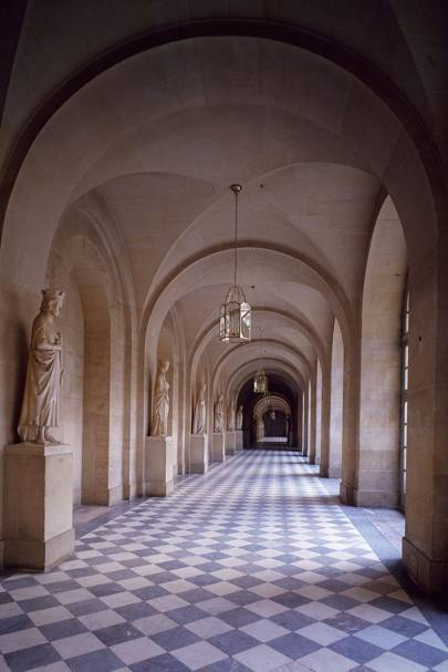 Gallery of the Kings leading to the Royal Chapel