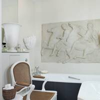 Bathroom - Nicky Haslam London Flat