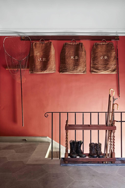 Red Paint Ideas Colour Rooms House Garden