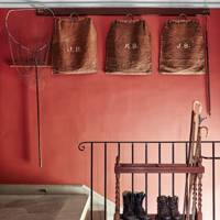 Red Hallway: Farrow & Ball, 'Picture Gallery Red'