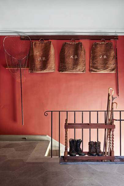 Farrow and Ball colours - picture gallery red