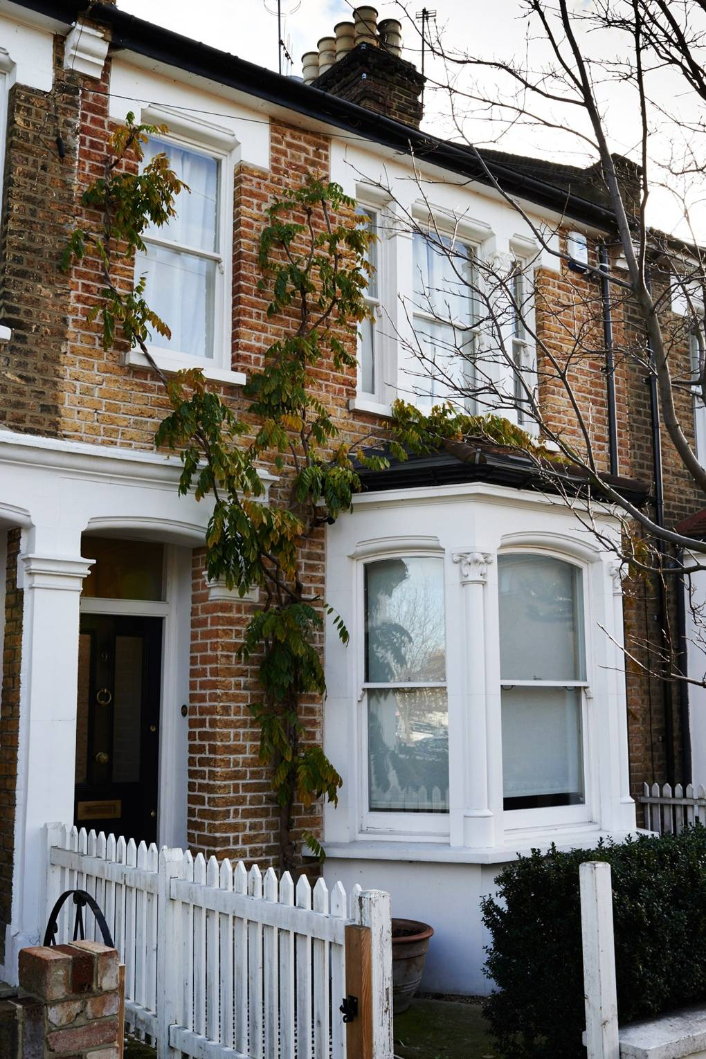 Terraced House Exterior Renovation Before After Design Ideas
