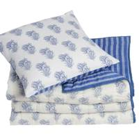 December 12: Cologne & Cotton Cotton Voile Printed Quilt and Cushion, £117