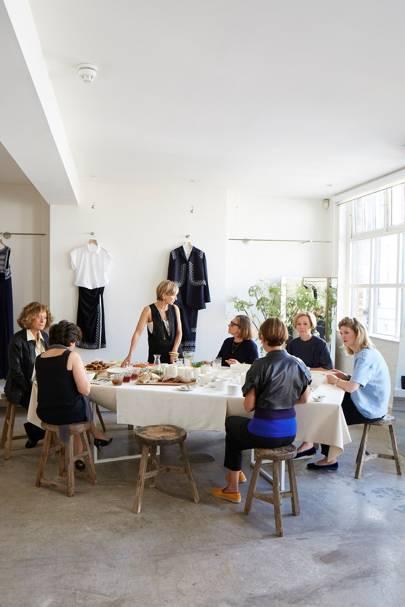 Atelier Breakfast - Anna Valentine's Bright London Flat