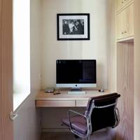 Fir-panelled Office