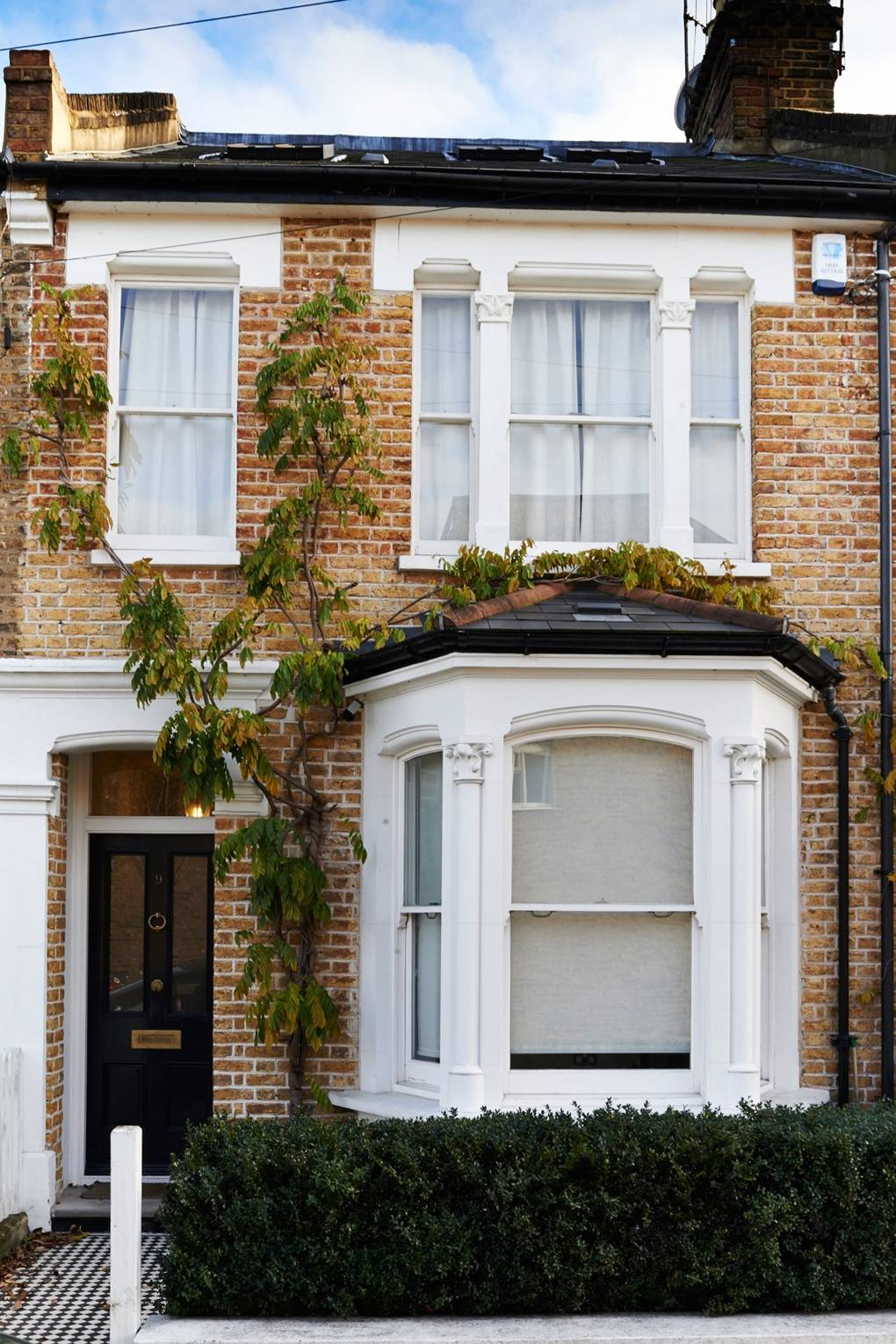 Terraced House Exterior Renovation Before After Design Ideas Garden