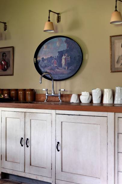 Kitchen - Emma Burns' Converted Stable Block