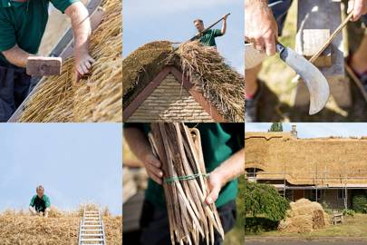 Roof Thatcher Chris Dodson Thatched Cottage Roofs