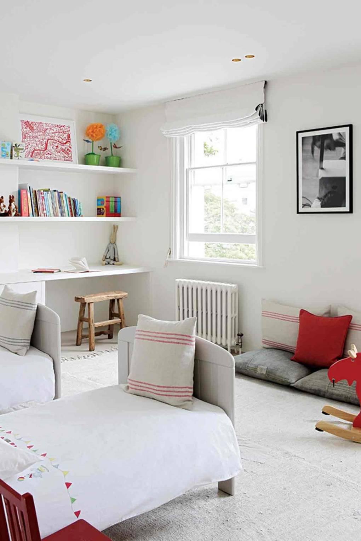 White Minimal Modern Family Home   Real Homes   House & Garden