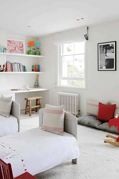 Children's Bedroom - Architect's Pale Family Home