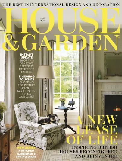 april 2018 - House And Garden Magzine