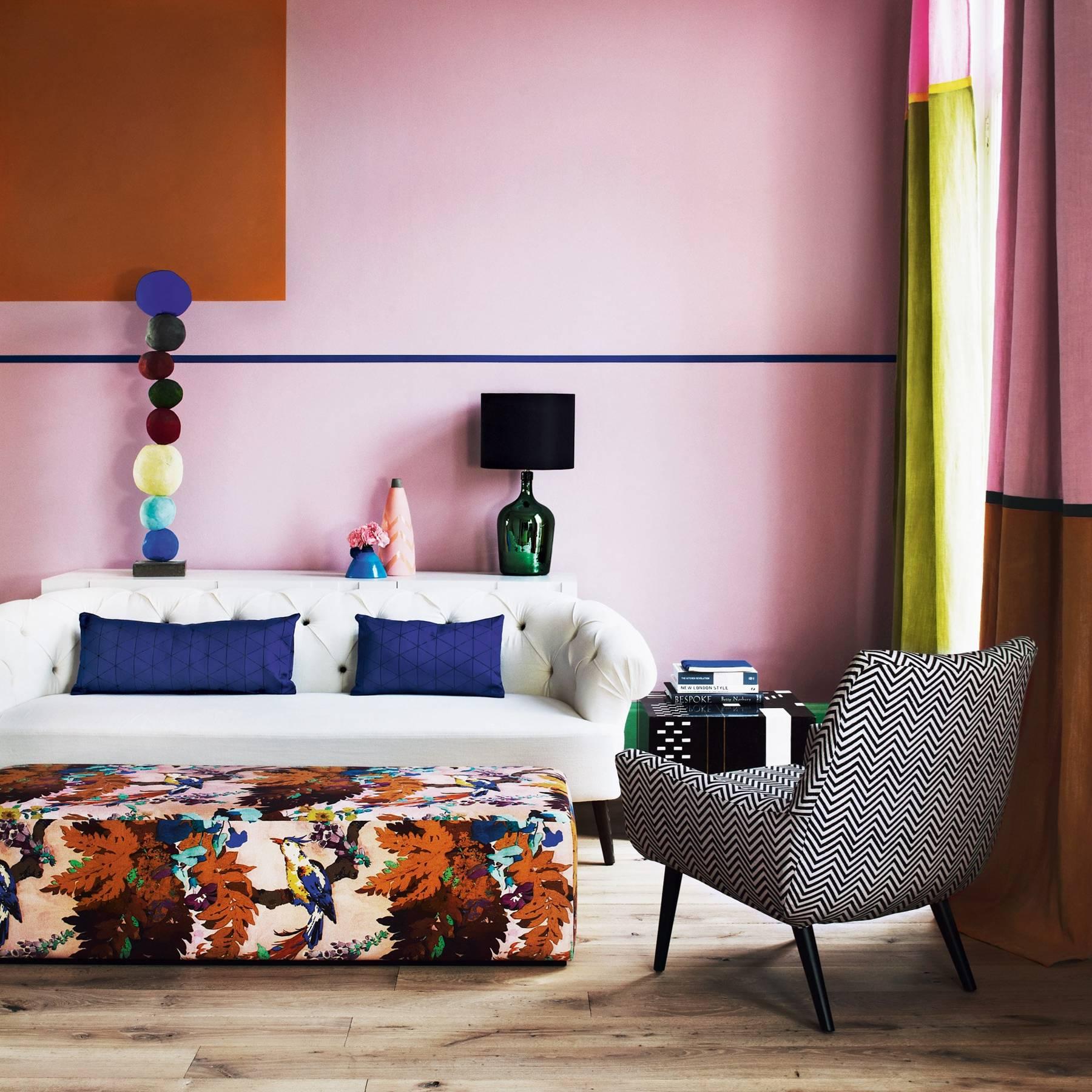 Colour Block Walls Interior Paint Ideas