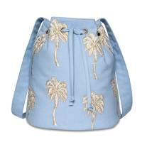 July 9: Elizabeth Scarlett Palmier Chambray Bucket Bag, £40