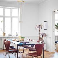 Dining Room - Scandinavian Home of Pernille Teisbaek