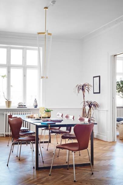 Dining Room - Scandinavian Home of Pernille Teisbaek
