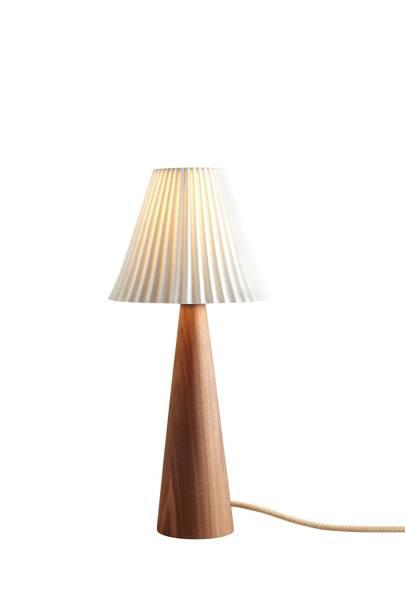Walnut Table Lamp