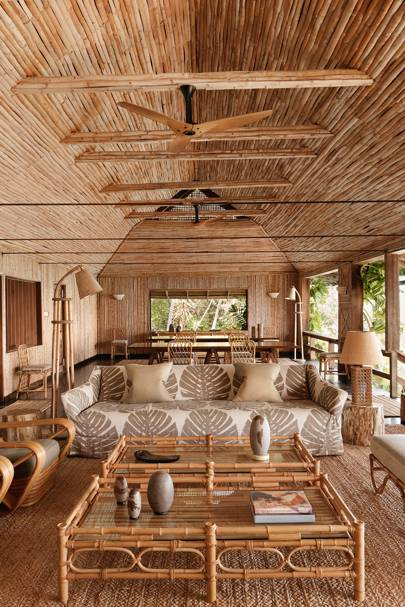 The Mustique beach house