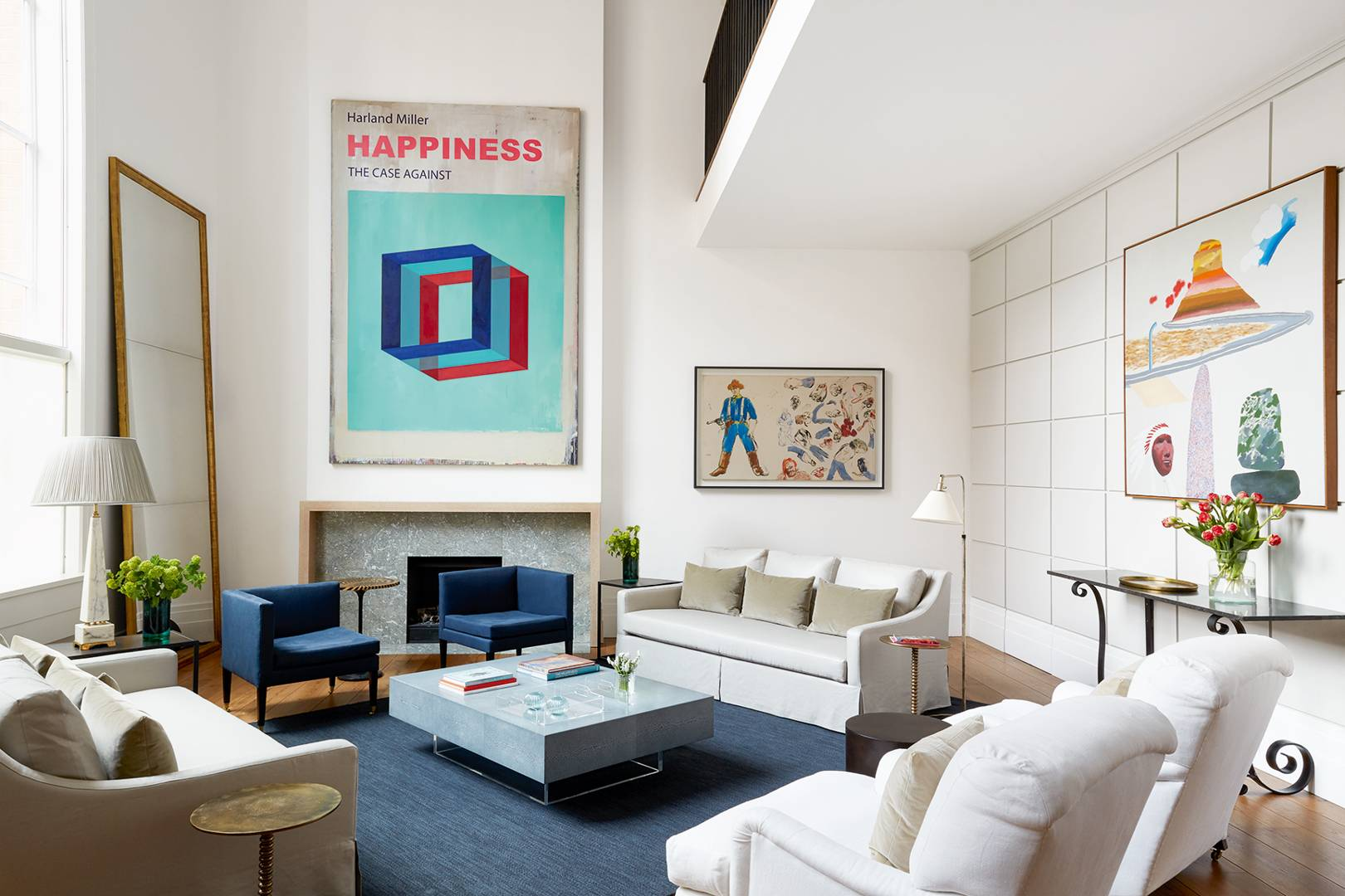 A serene, art-filled London townhouse designed by Ann Boyd