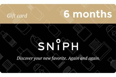 February 1: Six Month Fragrance Subscription with Sniph, £107.00