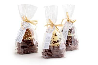 Carluccio's, 'Chocolate Egg in Cocoa Pasta Nest'