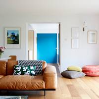 Colourful Mid-century Living Room