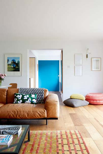 Living Area - Modern Colourful Thirties House