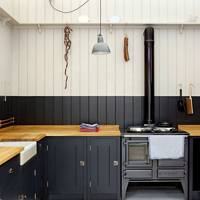 Black Kitchen by Plain English