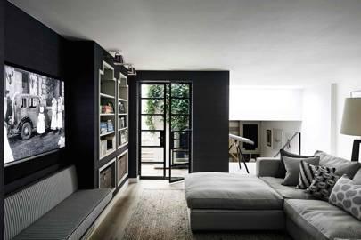 TV Room - West London Basement Extension