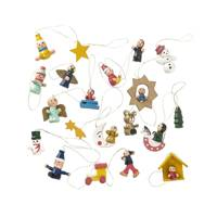 20-pack wooden Christmas hangers, £5, Hema