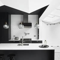 Modern Monochrome Kitchen