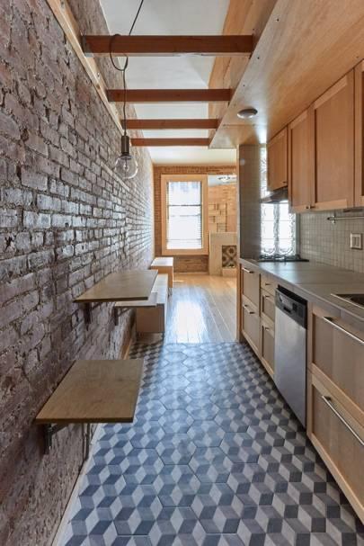 Kitchen corridor