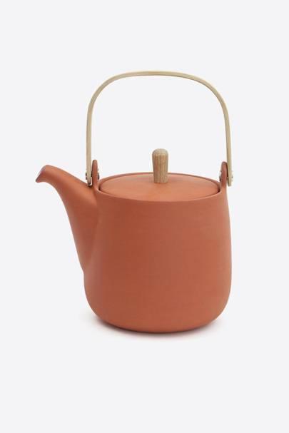 Terracotta Teapot