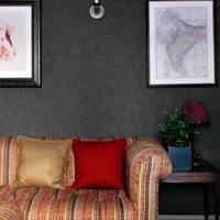 Grey Sitting Room Sofa - English Garden Square House