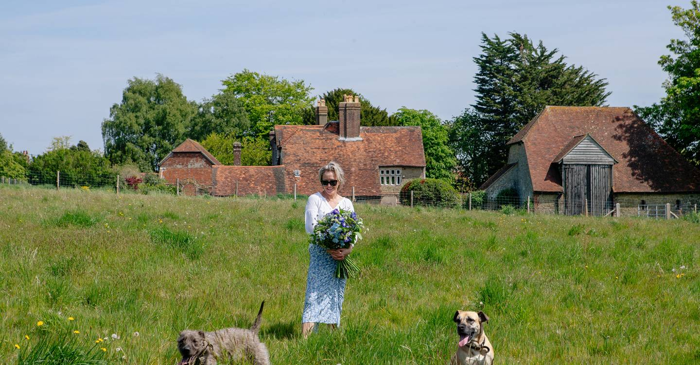 Florist Nikki Tibbles describes her gardens