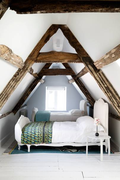 Small Country Attic Bedroom