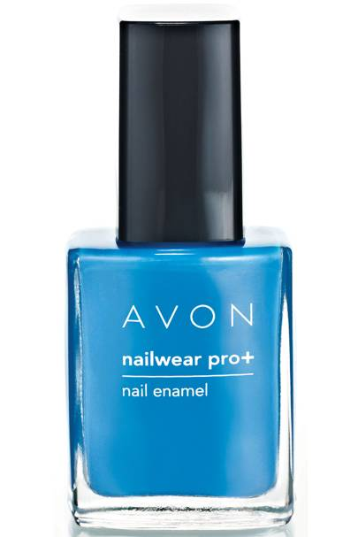 22 October: Avon Nailwear Pro+ in Arctic Waters, Chilling Teal & Green Goddess, £18