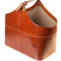 July 7: Bedford Leather Storage Basket, £115, from Leather and Lavender