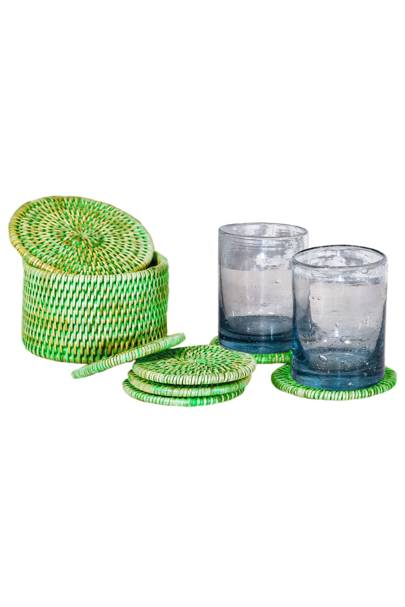 May 7: Kalinko Latha Coasters in Green, £22