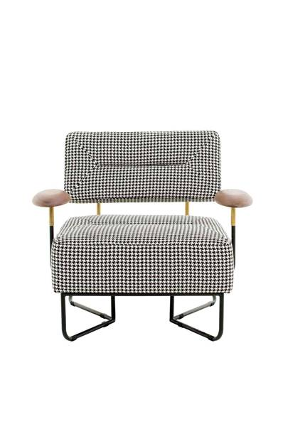 QT Houndstooth Chair