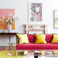 Coloured Upholstery & Pop Art