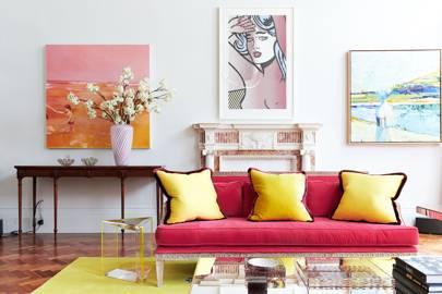 Coloured Upholstery & Pop Art