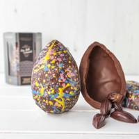 Chococo Luxury Milk Chocolate & Salted Caramels Egg, 250g, £18.00